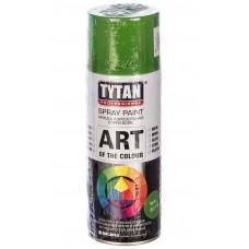 Краска универсальная аэрозольная акриловая Tytan Professional Art of the colour RAL 6018 светло-зеленый 400 мл