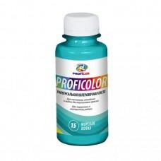 Колеровочная паста Profilux Proficolor№15 100 гр цвет морская волна