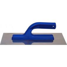 Гладилка нержавеющая сталь с пластмассовой ручкой 13х28