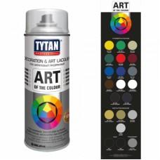 Лак универсальный аэрозольный акриловый Tytan Professional Art of the colour глянцевый 400 мл