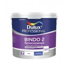 Dulux Professional Bindo 2 глубокоматовая белоснежная 2,5 л.