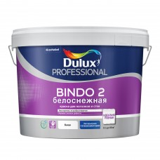 Dulux Professional Bindo 2 глубокоматовая белоснежная 9 л.