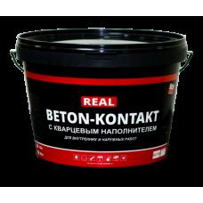 "Грунт адгезионный сцепляющий BETON-KONTAKT (""REAL"") БС-725 10 кг"