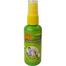 ARGUS лосьон-спрей от комаров 50мл. Истек срок годности (дата производства 01.05.2017)