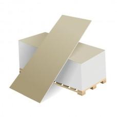 Гипсовая строительная плита ГСП тип А-УК 12,5-1200-2500