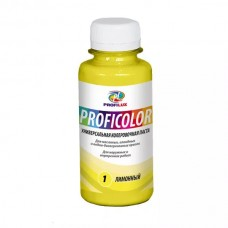 Колеровочная паста Profilux Proficolor№01 100 гр цвет лимонный