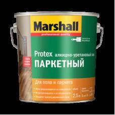 Лак паркетный Marshall Protex полуматовый 2,5 л