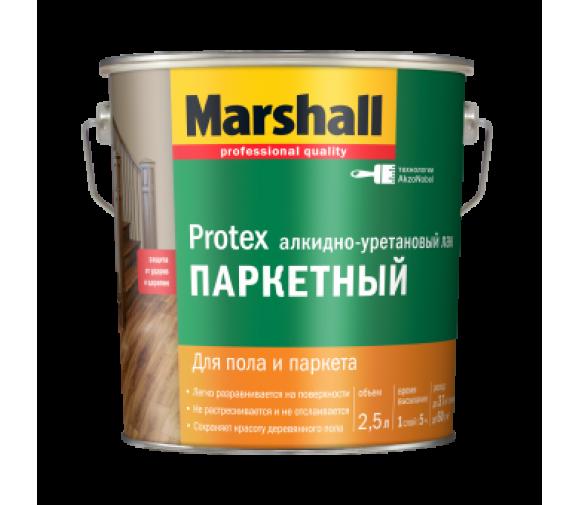 Лак паркетный Marshall Protex глянцевый 2,5 л