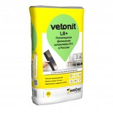 Шпатлёвка финишная полимерная Weber.Vetonit LR+ 20 кг