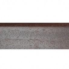 Плинтус шпонированный DL Profiles 008 Венге Натур светлый 2400х75x16 мм