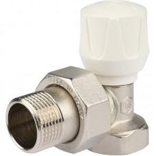 Клапан ручной терморегулирующий Stout SVR 2102 000020 3/4 дюйма угловой