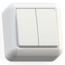 Кунцево-Электро Оптима А510-380 двухклавишный белый