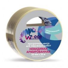 W-Con прозрачная супер-клейкая 50 мм 20 м
