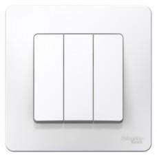Выключатель Schneider Electric Blanca BLNVS100501 трехклавишный белый