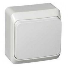 Переключатель Schneider Electric Этюд BA10-004B одноклавишный белый