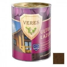 Пропитка для древесины Veres Ultra Lazura № 4 Орех 10 л