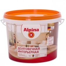 Краска Alpina Долговечная интерьерная База 1 шелковисто-матовая 0,9 л