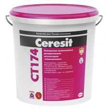 Штукатурка силикатно-силиконовая декоративная Ceresit CT 174 Камешковая 1,5 мм 25 кг