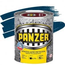 Panzer молотковая синяя 0,75 л