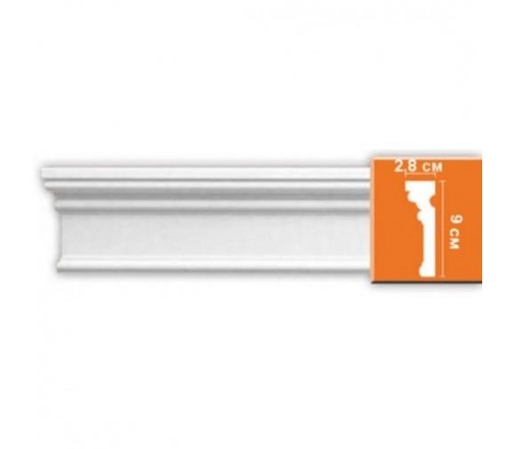 Молдинг полиуретановый Decomaster DP-9012F 2400х90х28 мм
