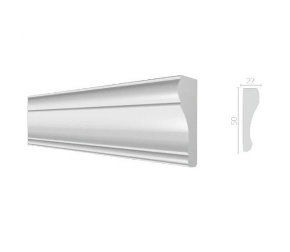 Молдинг из дюрополимера Decor-Dizayn 151 A 2000х50х22 мм