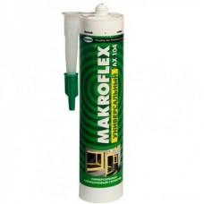 Герметик силиконовый Makroflex AX104 универсальный белый 290 мл
