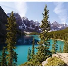 Фотообои виниловые на флизелиновой основе Decocode Озеро Рица 31-0045-PL 3х2,8 м