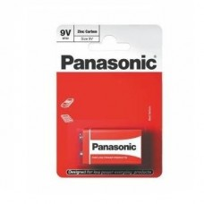 Батарейка солевая Panasonic Zinc Carbon 9 V 6F22RZ BL1 1 шт