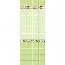 Кронапласт Unique Яблоневый цвет зелёный фоновая 2700х250 мм