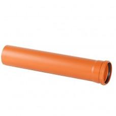 Труба наружная ПВХ Хемкор SN4 250х6,2х2000 мм