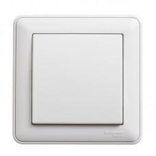 Выключатель Schneider Electric W59 VS116-154-18 одноклавишный белый
