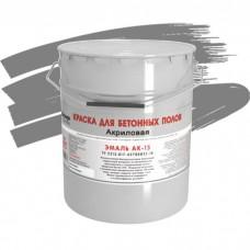 Краска акриловая Грида Эмаль Ак-15 по бетону 27 кг