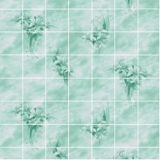 Акватон Букет цветов Изумруд 2440х1220 мм