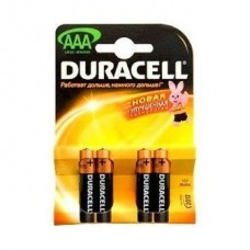 Батарейка алкалиновая Duracell Basic AAA LR03 Bl-4
