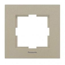 Рамка одноместная Panasonic Karre Plus WKTF08012BR-RES бронза