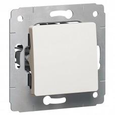 Механизм переключателя Legrand Cariva 773657 одноклавишный белый