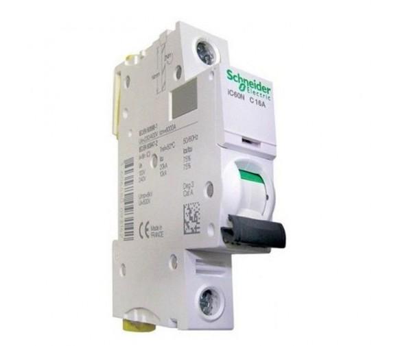 Автоматический выключатель Schneider Electric Acti9 iC60N 1п C 16А 6кА