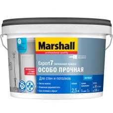 Краска для стен и потолков Marshall Export-7 база BC матовая 2,5 л