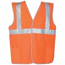 """Жилет сигнальный """"Стандарт 60"""" размер XL (52-54; 104-108 см) 2-й класс защиты оранжевый"""