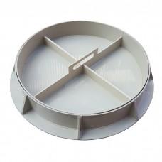 Канализационный люк пластиковый Sprut Decor-1