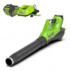 Greenworks G40ABK6 с аккумулятором 6 А.ч и зарядным устройством