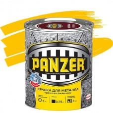 Panzer гладкая желтая 0,75 л