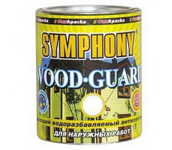 Антисептик кроющий Symphony Wood Guard VVA 0,9 л