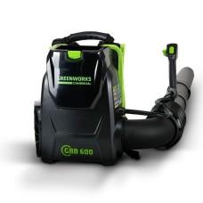 Воздуходув аккумуляторный ранцевый Greenworks GD82BPB без аккумулятора и зарядного устройства