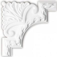 Угол декоративный для молдинга Decomaster DP-8050D 220х220х20 мм