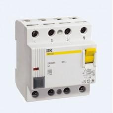 Автоматический выключатель дифференциального тока IEK ВД1-63 4P 63А 30мА