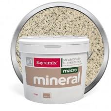 Штукатурка мраморная декоративная Bayramix Macro Mineral 1015 15 кг