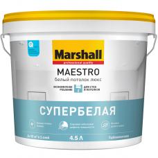 Marshall Maestro Белый потолок Люкс глубокоматовая белая 4,5 л