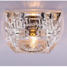 Светильник точечный встраиваемый Italmac Olympia 220 1 70 G9 прозрачный 40 Вт