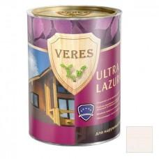 Пропитка для древесины Veres Ultra Lazura № 12 белый 0,9 л